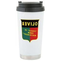 CafePress Oliver Tractor Stainless Steel Travel Mug Stainles