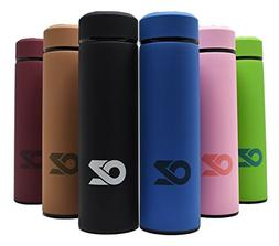ALL IN ONE Travel Mug by OZ – 16.9 Oz Double Wall Metal Va