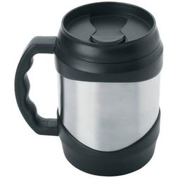 New Oversized Stainless Steel 52 oz Coffee Travel Mug Keg La