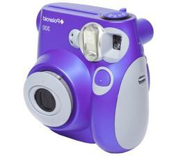 Polaroid PIC 300 Purple Instant Camera