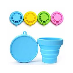 Polymer Cupful Silicone Folding Cup Drinkware & Tea Sets - P