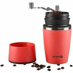 Portable Small Travel Coffee Maker And Grinder Mug Brewer By