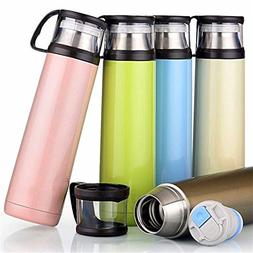 Beautifullight Portable 500ML Stainless Steel Travel Mug Cof
