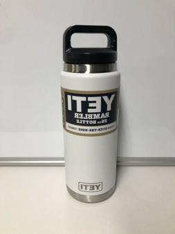 YETI RAMBLER - Bottle  WHITE - Over-the-Nose - MAX Insulatio