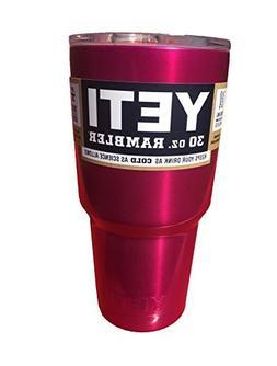 YETI Rambler Cup Custom Colors, 30 oz, Stainless Steel Tumbl