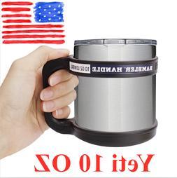 YETI Rambler Handle 10 oz Tumbler Travel Mug Grip Cup Holder