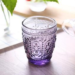 Retro Household Glass <font><b>Mug</b></font> Crystal Cup St