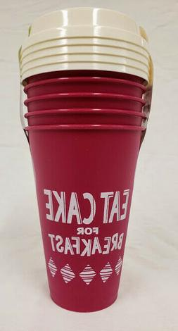 Aladdin Reusable Coffee Cups & lids - Each 5 Pk set 16oz- NO