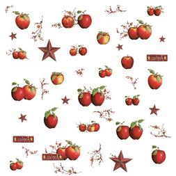 ROOMMATES RMK1570SCS Country Apples Peel & Stick Wall Decals