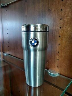 BMW Roundel Travel Mug - 16 oz. Stainless Steel Roundel Logo