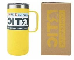 RTIC 16 Oz Stainless Steel Travel Coffee Cup Vacuum Insulate