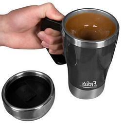 Evelots Self Stirring Coffee Mug-Travel-Electric-Tea-10 Ounc
