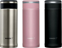 Zojirushi SM-JHE Stainless Steel Travel Mug, 2 Sizes, 3 Colo
