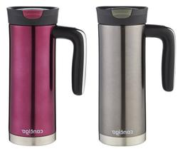 Contigo Snap Seal Superior Stainless Steel Tumbler, 20 oz.,