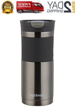 SnapSeal Byron Stainless Steel Travel Mug 20 Oz BPA Free Dis