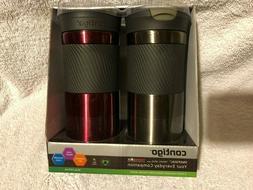 Contigo SnapSeal Vacuum-Insulated Travel Mugs 16 oz Leak Pro