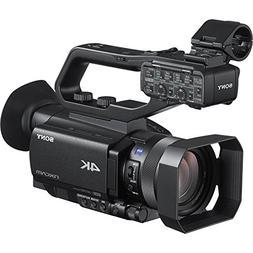Sony HXRNX80 4K HD Compact 1.0-type NXCAM Camcorder, Black