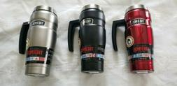 Thermos Stainless King 16 Ounce Travel Mug with Handle! Bran
