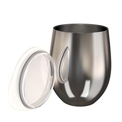 Stainless Steel Coffee Mug, Vacuum Insulated Thermal Metal D