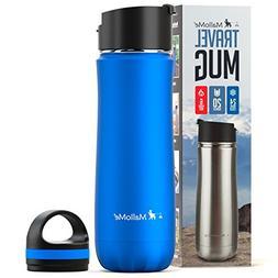 MalloMe Stainless Steel Coffee Travel Mug – 20 oz Vacuum I
