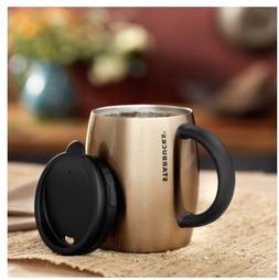 Starbucks Stainless Steel Desktop Mug - Bronze, 14 fl oz