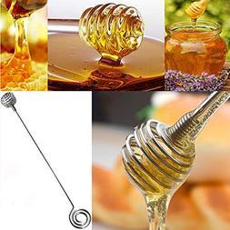 Gotian Stainless Steel Honey Dipper Stirring Stick Jam Rod S