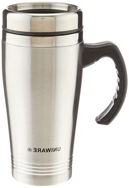 SET of 2 Stainless Steel Insulated Double Wall Travel Coffee