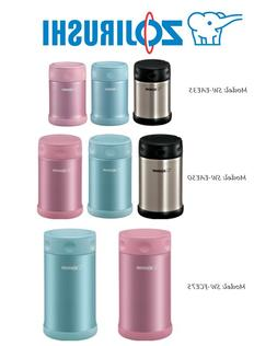 Zojirushi Stainless Steel Lunch Jars 12oz, 17oz & 25oz 100%