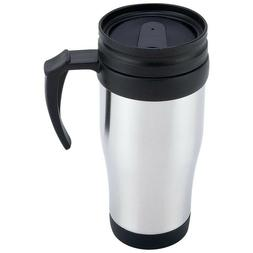 16oz Stainless Steel Travel Mug - Great for Tea Coffee Bever