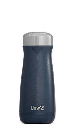 S'well Stainless Steel Travel Mug, 16 oz, Midnight Blue