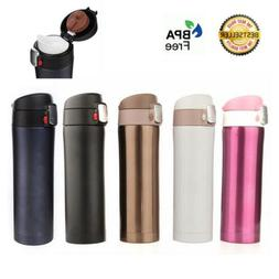 Stainless Steel Travel Mug Coffee Tea Vacuum insulated Therm