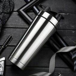 Stainless Steel Water Bottle Vacuum Insulated Sports Gym Tra