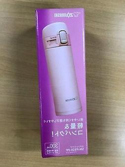 Zojirushi Stainless Vacuum Mug, Pearl Pink, 10 oz/0.30 L SM-