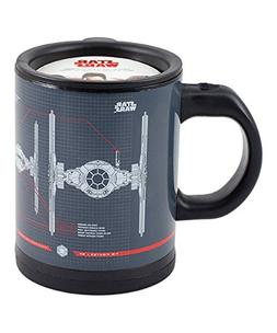 Star Wars Tie Fighter Self-Stirring Travel Mug - Mix Your Dr