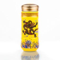 Super versatile airtight Double Porcelain Wall Insulated tea
