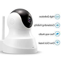 TENVIS HD IP Camera - Wireless IP Camera with Two-way Audio,
