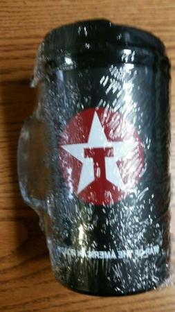 Texaco Mug Food Mart Black 32 oz Aladdin Plastic Insulated T