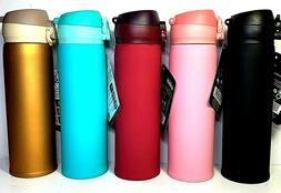 Thermos Coffee Tea Travel Mug Stainless Steel Vacuum Flask W
