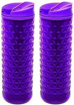 Aladdin Topo Insulated Plastic Mug 16oz, Berry