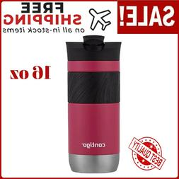 Travel Coffee Mug Leak Proof Vacuum Insulated Byron SnapSeal