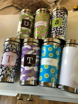 Travel Coffee Mugs by Paparte - 12 oz. - Various colors & pa