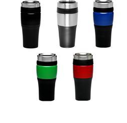 Travel Mug 16 oz. Black Acrylic Color Accent Tumblerwas  $8.