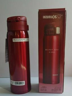* Travel Mug 16 oz , New Clear Red *  . Zojirushi SM-SD48-RC