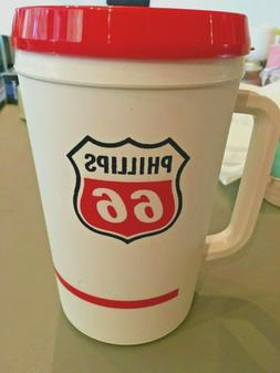 TRAVEL MUG BY ALADDIN 32 OZ  *NEW*  BRANDED PHILLIPS 66  WHI