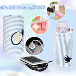Travel Mug USB Warmer Milk Bottle Feeding Bottle Heater  Inf