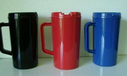 Travel Mugs with Handles, 34.5 oz. $6.49 FREE SHIPPING