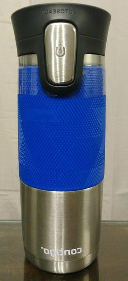 Contigo Travel Thermos Mug 16oz AutoSeal Technology Spill Pr