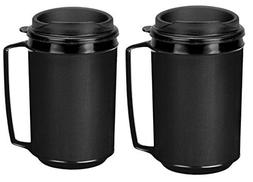 Two 12 oz Insulated Coffee Mugs like Classic Aladdin Mugs Th