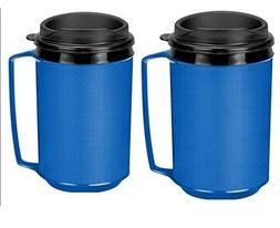 Two 12 oz Insulated Coffee Mugs like the Classic Aladdin Mug