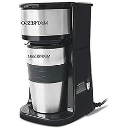 Ultimate 2-In-1 Single Cup Coffee Maker & 14oz Travel Mug Co